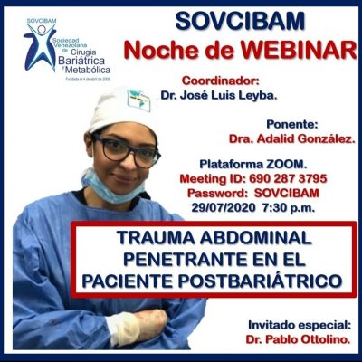 Trauma en el paciente post bariátrico Dra Adalid González