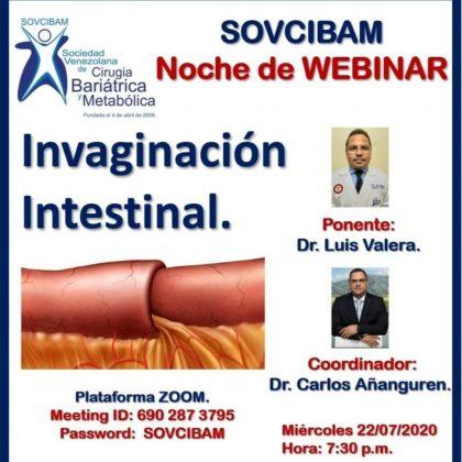 Invaginación Intestinal en el Paciente Postbariátrico.