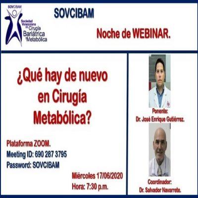 ¿Que hay de nuevo en cirugía metabólica?